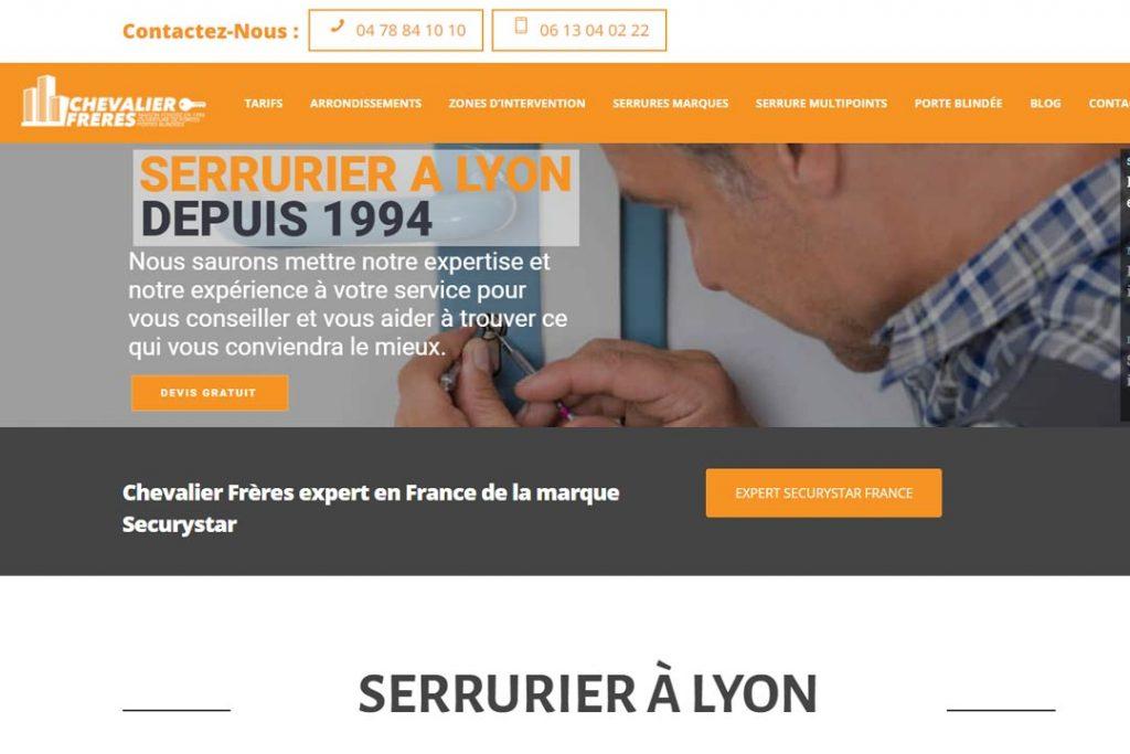 Dépannage à Lyon : Chevalier Frères Serruriers