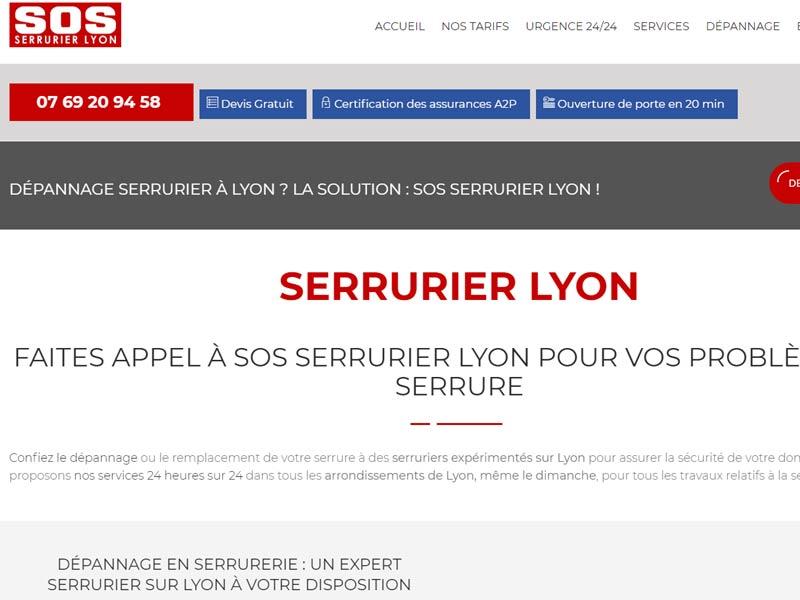 SOS Serrurier Lyon – Express Travaux