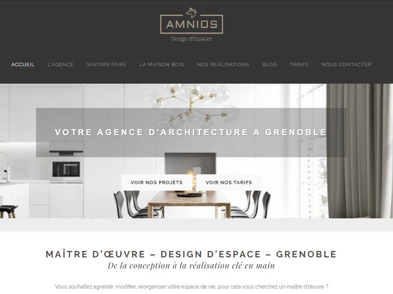 Extension bois Grenoble – Amnios